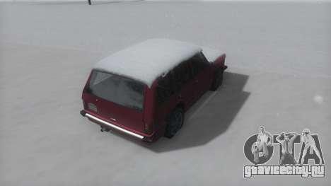 Huntley Winter IVF для GTA San Andreas вид сзади слева