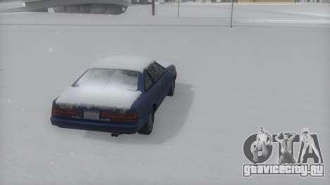 Cadrona Winter IVF для GTA San Andreas вид слева