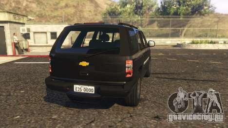 Chevrolet Blazer 4x4 для GTA 5 вид сзади слева