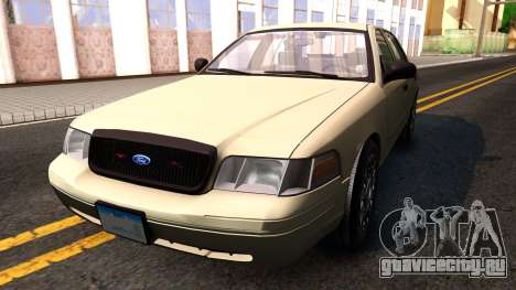 Ford Crown Victoria Unmarked 2009 для GTA San Andreas