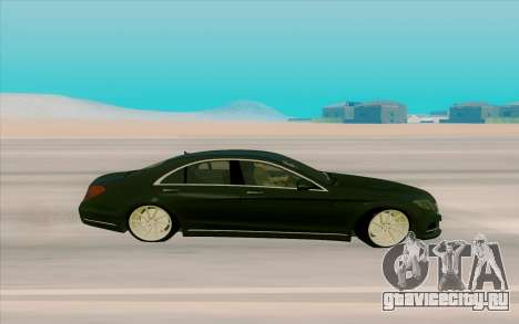 Mercedes Benz S63 для GTA San Andreas вид слева