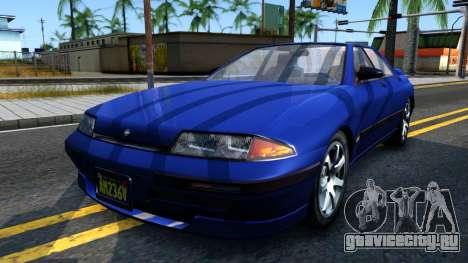 GTA V Zirconium Stratum Sedan для GTA San Andreas