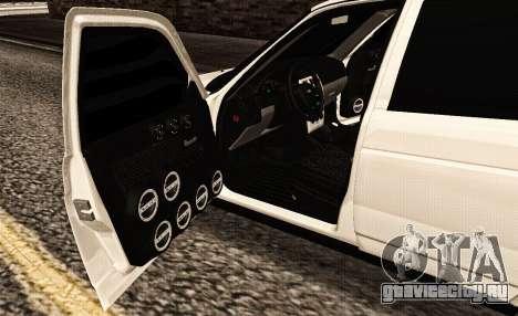 2170 Заказ для GTA San Andreas вид изнутри
