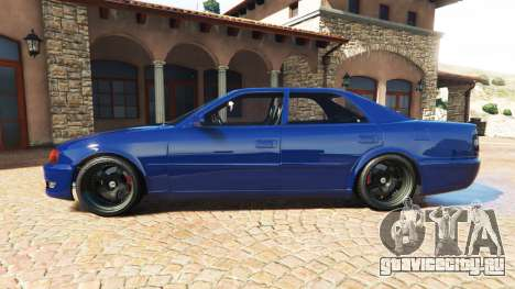 Toyota Chaser (JZX100) cambered v1.1 [add-on] для GTA 5 вид слева