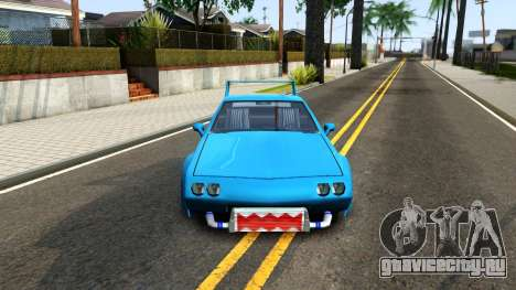 New Buffalo Custom для GTA San Andreas вид изнутри