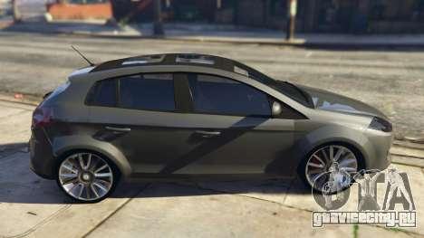 Fiat Bravo 2011 для GTA 5 вид слева
