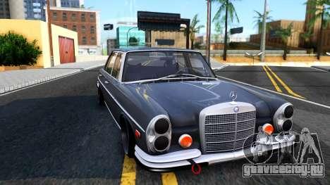 Mercedes-Benz 300SEL 6.3 для GTA San Andreas вид справа