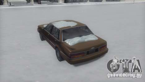 Primo Winter IVF для GTA San Andreas вид слева