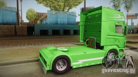 Scania Old School для GTA San Andreas вид слева