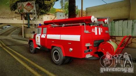 ЗиЛ 131 Амур Пожарная Машина для GTA San Andreas вид слева