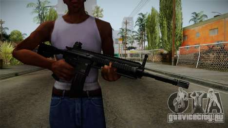 HK416 v1 для GTA San Andreas третий скриншот
