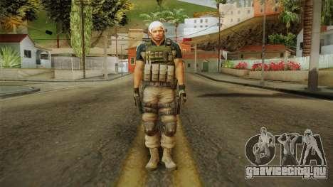 Resident Evil 6 - Chris Asia Bsaa для GTA San Andreas второй скриншот