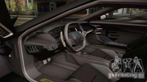 Ford GT 2017 Heritage Edition для GTA San Andreas вид сзади