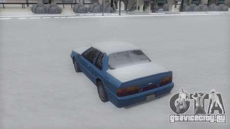 Previon Winter IVF для GTA San Andreas вид слева