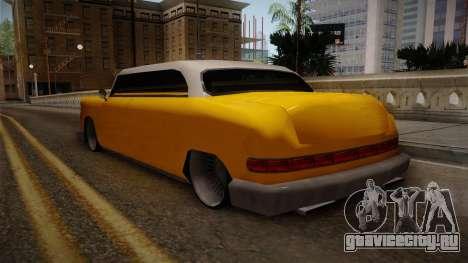 Custom Cab для GTA San Andreas вид сзади слева