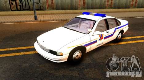 Chevy Caprice Hometown Police 1996 для GTA San Andreas