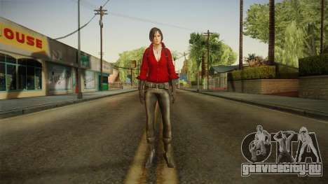 Resident Evil 6 - Ada для GTA San Andreas второй скриншот