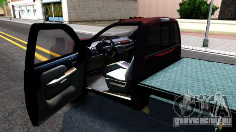 Chevrolet HD 3500 2013 для GTA San Andreas вид сзади