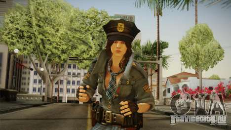 Resident Evil 6 - Helena COP Outfit для GTA San Andreas