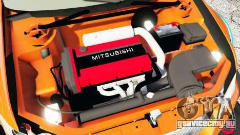 Mitsubishi Lancer Evolution IX Stormtrooper [r] для GTA 5 вид справа
