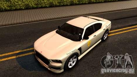 Bravado Buffalo Slicktop 2012 Iowa State Patrol для GTA San Andreas