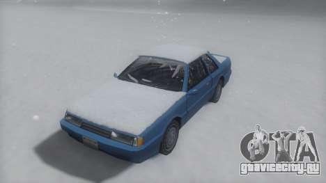 Previon Winter IVF для GTA San Andreas