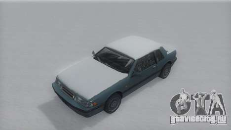 Bravura Winter IVF для GTA San Andreas вид справа