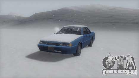 Previon Winter IVF для GTA San Andreas вид сзади слева