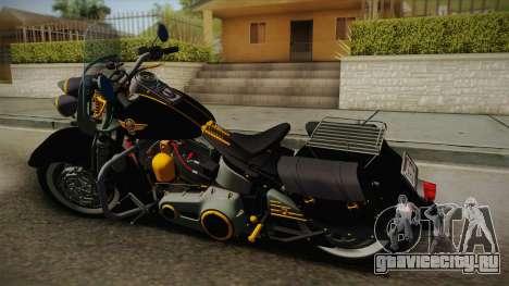 Harley-Davidson Fat Boy Lo Vintage 1992 v1.1 для GTA San Andreas вид слева