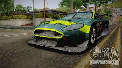 Aston Martin Racing DBRS9 GT3 2006 v1.0.6 YCH для GTA San Andreas двигатель