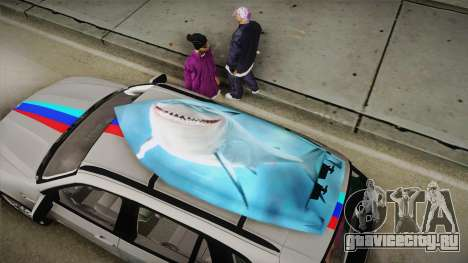 BMW X5M 2012 Special для GTA San Andreas вид изнутри