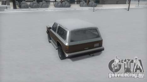 Rancher Winter IVF для GTA San Andreas вид справа