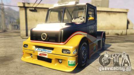 Ftruck Mercedes L Series v2 для GTA 5