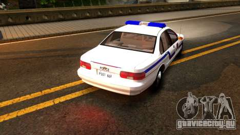 Chevy Caprice Hometown Police 1996 для GTA San Andreas