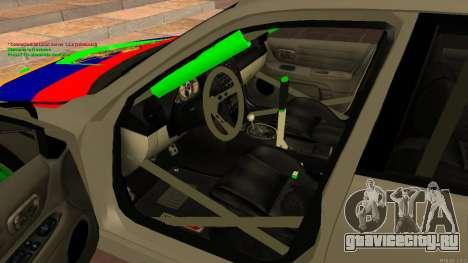 Toyota Altezza Armenian для GTA San Andreas вид справа