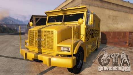 Carro Forte Prosegur Brasil для GTA 5