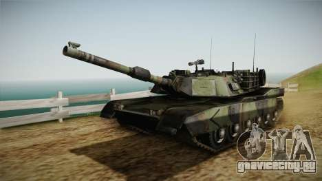 Abrams Tank Woolant Camo для GTA San Andreas