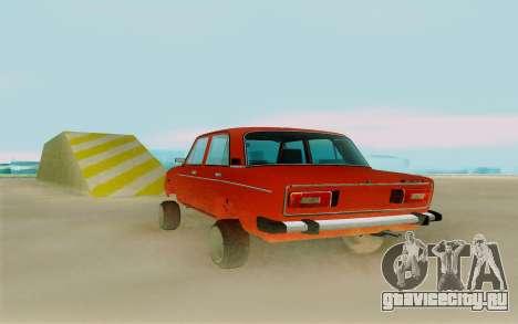 Phoenix ВАЗ 2106 для GTA San Andreas вид сзади слева