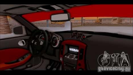 Nissan 370z Drift Edition для GTA San Andreas вид справа