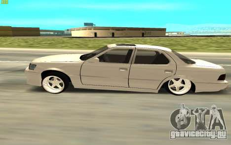 Toyota Celsior UCF10 для GTA San Andreas вид сзади слева