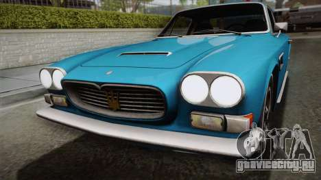 Maserati Serbin 4000 v0.1 (Beta) для GTA San Andreas вид справа