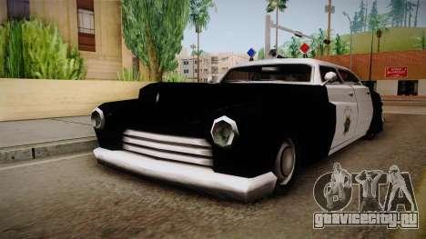 Hermes Classic Police Las Venturas для GTA San Andreas вид справа