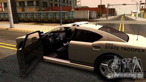 Bravado Buffalo 2012 Iowa State Patrol для GTA San Andreas
