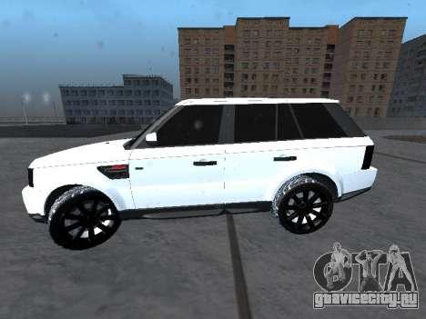 Range Rover Sport для GTA San Andreas вид слева