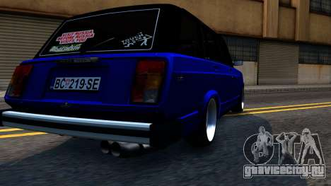 Lada 2104 S Kombi для GTA San Andreas вид изнутри