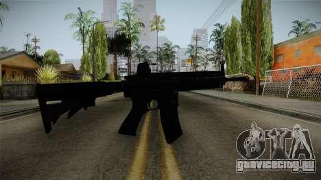 HK416 v1 для GTA San Andreas второй скриншот