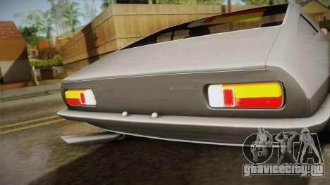 Maserati Ghibli v0.1 (Beta) для GTA San Andreas вид сзади слева