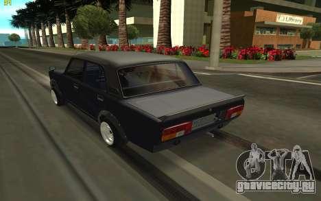ВАЗ 2105 для GTA San Andreas вид сзади слева