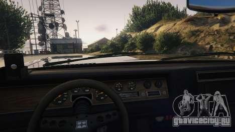 TLAD Regina Sedan для GTA 5 вид справа