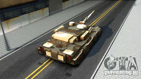 Rhino GTA V для GTA San Andreas вид изнутри